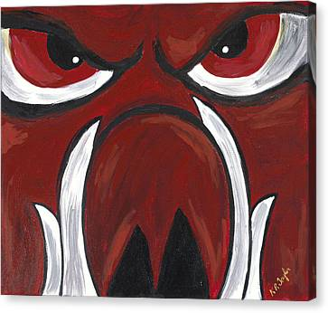 Big Red Canvas Print by Robin Taylor