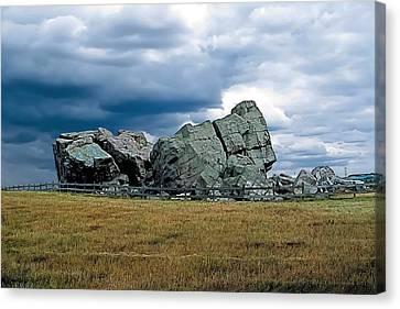 Big Rock 2 Canvas Print by Terry Reynoldson