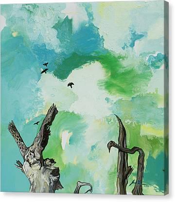 Big Sky Canvas Print by Joseph Demaree
