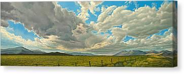 Big Sky Canvas Print by Paul Krapf