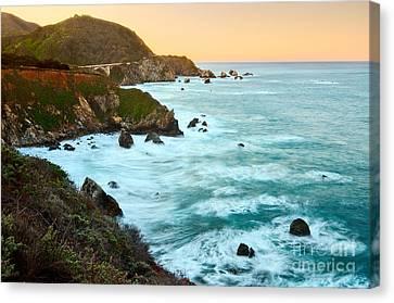 Big Sur Sunrise Canvas Print by Jamie Pham