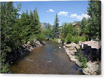 Big Thompson Estes Park Canvas Print by Kay Pickens