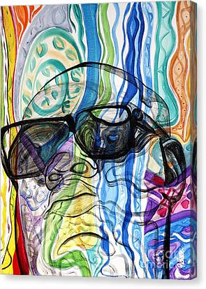 Biggie Canvas Print by Aliya Michelle