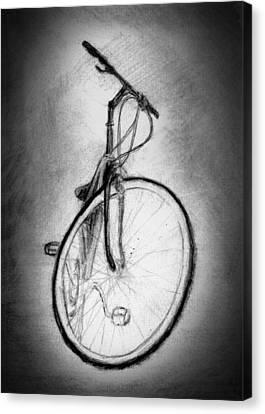 Bike Canvas Print by Di Fernandes