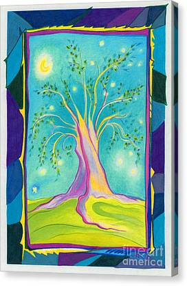 Bilabo Tree  Canvas Print by First Star Art