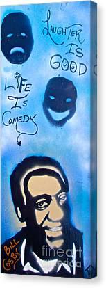 Bill Cosby Canvas Print by Tony B Conscious