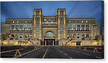 Bill Snyder Family Stadium Canvas Print by Thomas Zimmerman