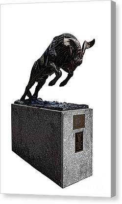 Bill The Goat Canvas Print by Olivier Le Queinec