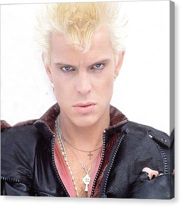 Billy Idol - Early Years Canvas Print by Epic Rights