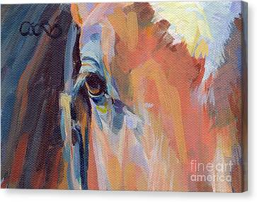 Billy Canvas Print by Kimberly Santini