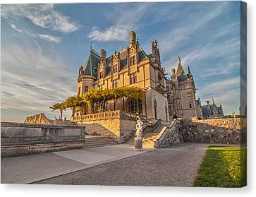 Biltmore Sunset Canvas Print by Donnie Smith
