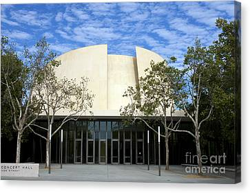 Bing Concert Hall Stanford California Canvas Print by Jason O Watson