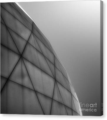 Biosphere2 - Dome Canvas Print by Gregory Dyer