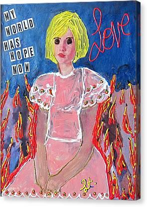 Bipolar Canvas Print by Lisa Piper Menkin Stegeman