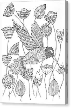 Bird Hummingbird 2 Canvas Print by Neeti Goswami