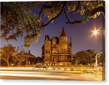Bishop's Palace Gresham's Castle - Galveston Texas Canvas Print by Silvio Ligutti
