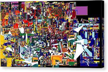 Bitachon 4  Canvas Print by David Baruch Wolk