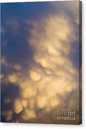 Bizarre Clouds Canvas Print by Michal Boubin