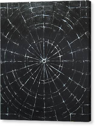 Black Bull's Eye Canvas Print by Kazuya Akimoto
