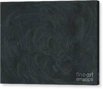 Black Color Of Energy Canvas Print by Ania M Milo