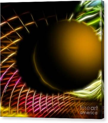 Black Hole Canvas Print by Cheryl Young