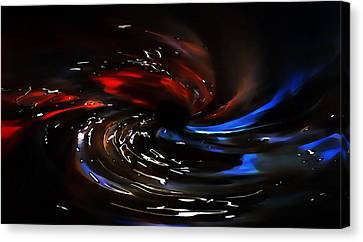 Black Hole Canvas Print by Terril Heilman
