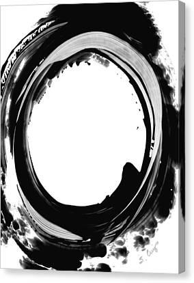 Black Magic 310 By Sharon Cummings Canvas Print by Sharon Cummings