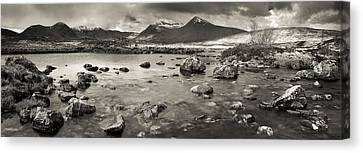 Black Mount From Rannoch Moor Canvas Print by Maciej Markiewicz