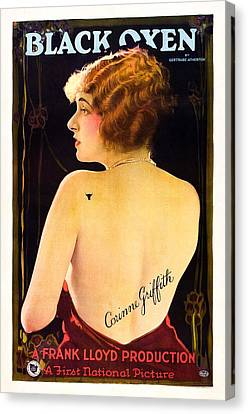 Black Oxen, Corinne Griffith On Poster Canvas Print by Everett
