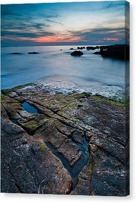 Black Rock Canvas Print by Davorin Mance