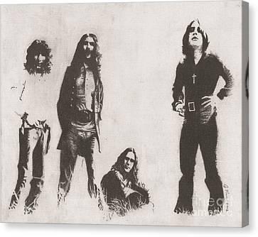 Black Sabbath Canvas Print by Jeff Ridlen