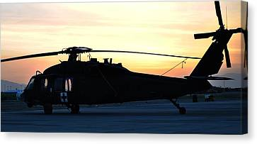Blackhawk Sunrise I Canvas Print by Joshua Burcham
