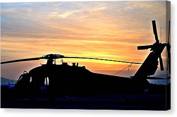 Blackhawk Sunrise II Canvas Print by Joshua Burcham