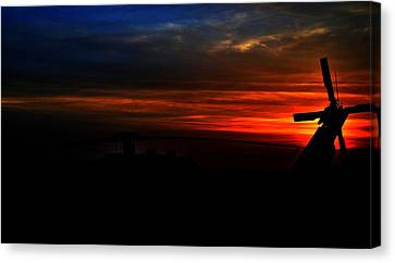 Blackhawk Sunrise IIi Canvas Print by Joshua Burcham