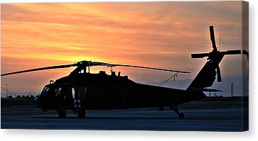 Blackhawk Sunrise V Canvas Print by Joshua Burcham