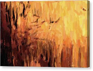 Blanchard Springs Caverns-arkansas Series 01 Canvas Print by David Allen Pierson