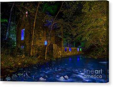 Blanchard's Mill Canvas Print by Keith Kapple