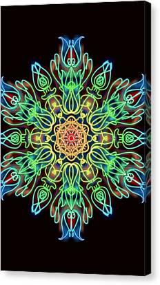 Blessing Canvas Print by Uma Swaminathan