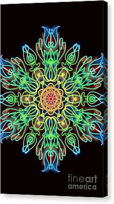 Blessing Canvas Print by Uma Swaminathan