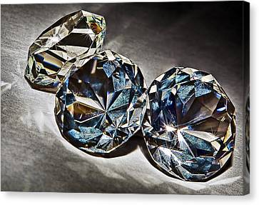 Bling Canvas Print by Marcia Colelli