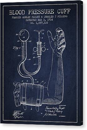 Blood Pressure Cuff Patent From 1914 Canvas Print by Aged Pixel