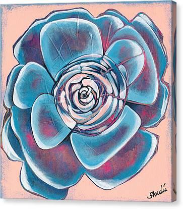 Bloom I Canvas Print by Shadia Derbyshire