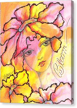 Bloom Canvas Print by Joann Loftus