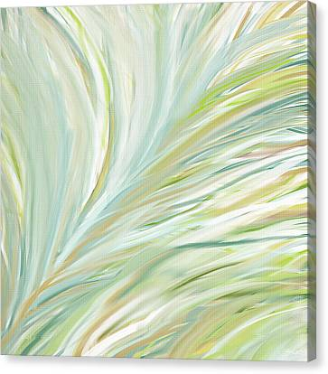 Blooming Grass Canvas Print by Lourry Legarde