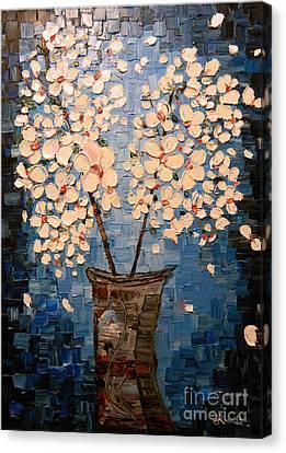 Blossom Bouquet Canvas Print by Alexandru Rusu