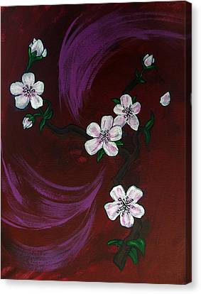 Blossoms Canvas Print by Nyxie Clark