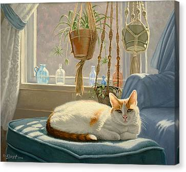 Blossom's Place Canvas Print by Paul Krapf