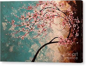 Blossoms Canvas Print by Tomoko Koyama