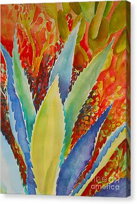 Blue Agave Canvas Print by Summer Celeste