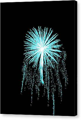 Blue Angel Canvas Print by Katie Beougher